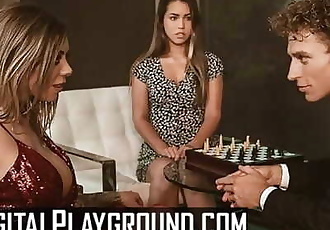 Digital Playground - Karma Rx & Alina Lopez share in threesome