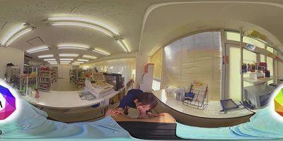 HoliVR 360VR _ JAV VR:My GF Public Invasion