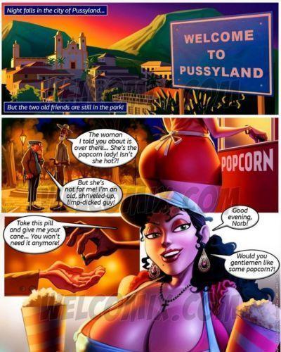 Old Geezers Of The Park 2 - Popcorn Cart