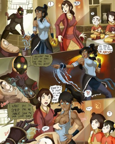 The Lezzing Of Korra