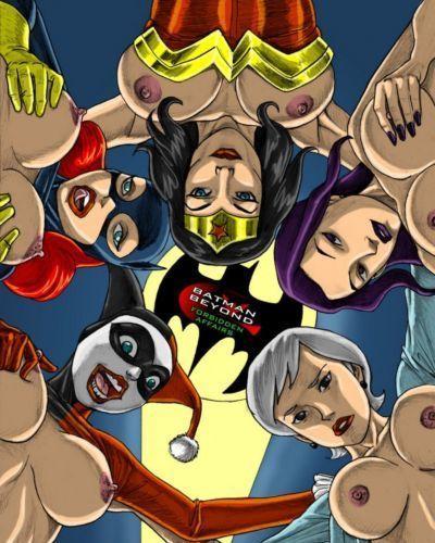 Los superhéroes xxx