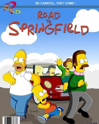 Simpsons- Road To Springfield