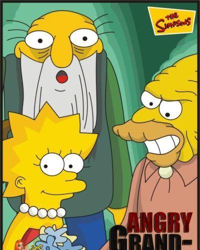 عائلة سمبسون غاضب جراند الآباء