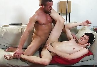 FamilyDick - Muscle stepdad seduced for allowance money