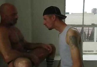 Adam Russo & Robert Rexton Flip Flop Fuck! Robert Eats Adams HAIRY Ass!!