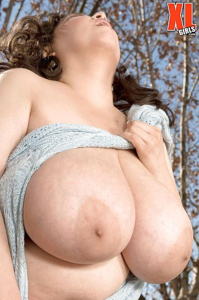 Top nudity scenes along BBW with huge tits and big ass Diana