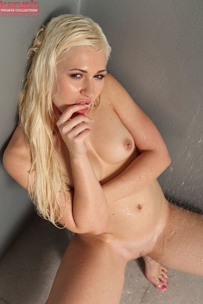 Teen amateur Tarra is a girl any man would like to share a shower with - part 2