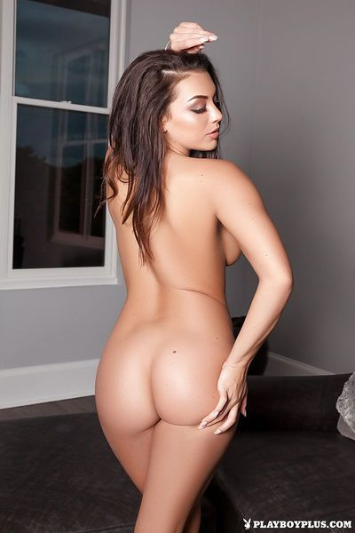 Fancy centerfold babe Kelsi Shay spreading legs to boast of pussy and hot ass - part 2