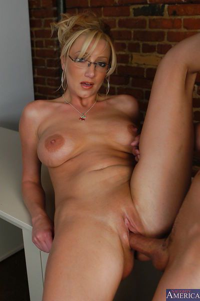 Lusty teacher has some pussy licking and anal banging fun with her student - part 2