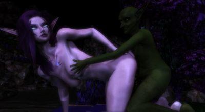 Goblin meets Night Elf - part 4