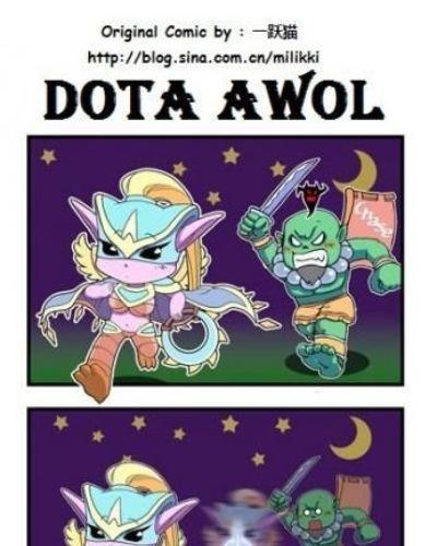 D.O.T.A Funny Comics - part 4