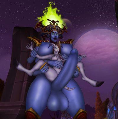 World of Warcraft Mixed Futanari/Shemale and Traps - part 33