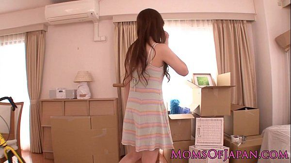 Japanese MILF secretary rammed HD