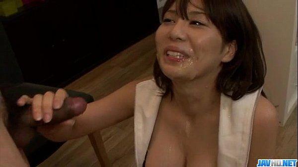 Karen Natsuhara, hot milf, goed nasty on a large cock
