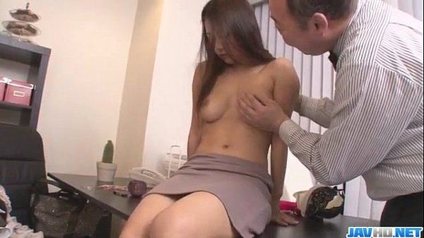 Asian babe Satomi Suzuki is ready to fuck her boss