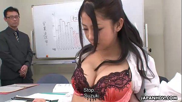 Suzuki getting fucked during the presentation