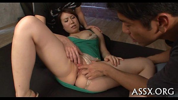Dazzling trio oriental fucking