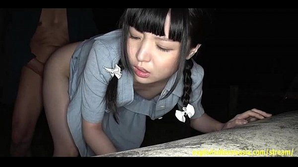 Jav Teen Fucked Outside At Night Pretty Girl Gets A Creampie In Building Site