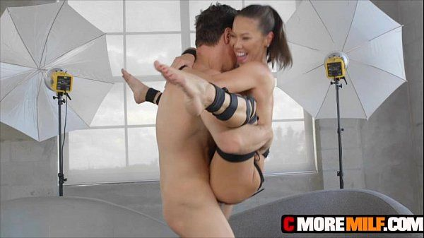Asian MILF Kalina Ryu dress up and get down on a big penis