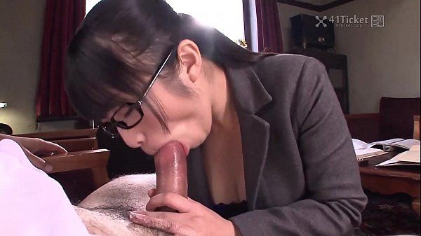 41Ticket Nana Kunimi Sucks Boss Cock (Uncensored JAV) HD