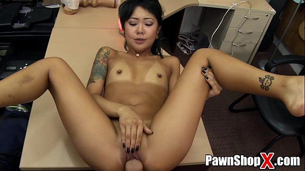 Cute Asian Teen Is Desperate for a Buck HD