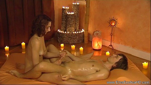 Stroking Cock To Relax Him HD