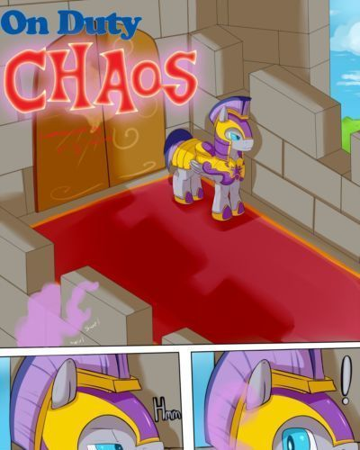Saurian On Duty CHAOS (My Little Pony: Friendship Is Magic)
