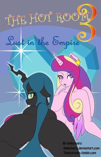 Dekomaru Lust In The Empire (MLP: Friendship is Magic)