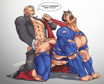 Hotcha Humiliated Superman