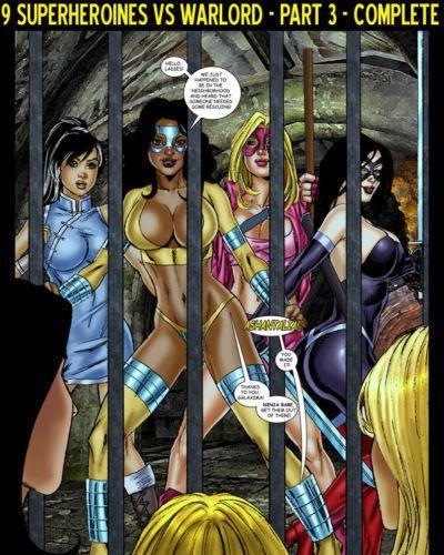 matt johnson 9 Superheroines vs Warlord Ch.3