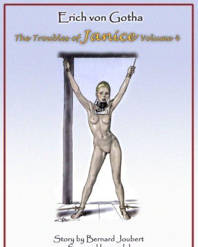 Erich Von Gotha The Trouble of Janice - Volume #4 {Donnie B.}