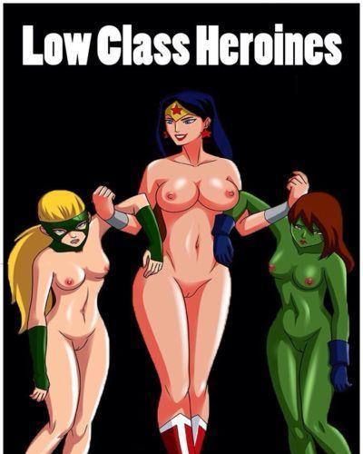 Arabatos Low Class Heroines (Teen Titans- Young Justice)