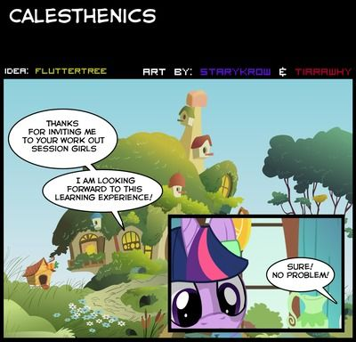 Tiarawhy Calesthenics (My Little Pony: Friendship is Magic)