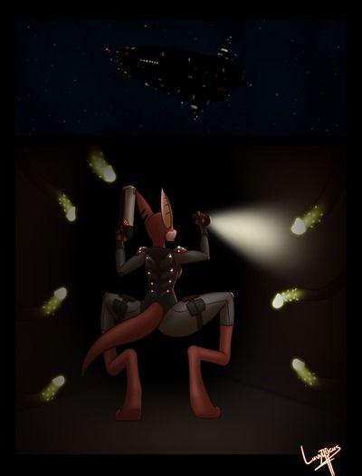 Luvythicus Deep Space Exploration (Titan AE)