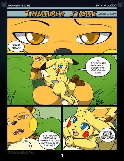 Kuroodod Thunder Stone (Pokemon)