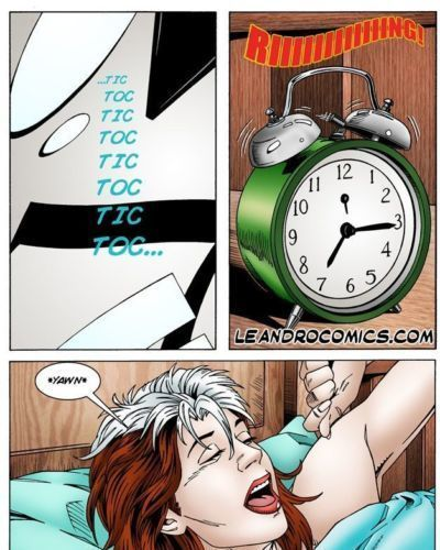 Leandro Comics Rogue loses her powers (X-men)