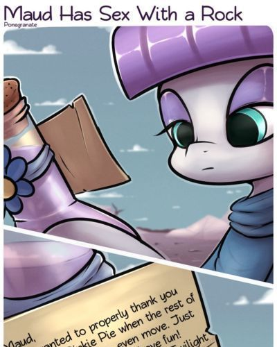 Ponegranate Maud Has Sex With a Rock (My Little Pony: Friendship is Magic)
