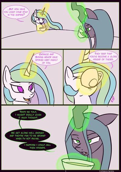 Kanashiipanda Royal Visitation (My Little Pony: Friendship is Magic)