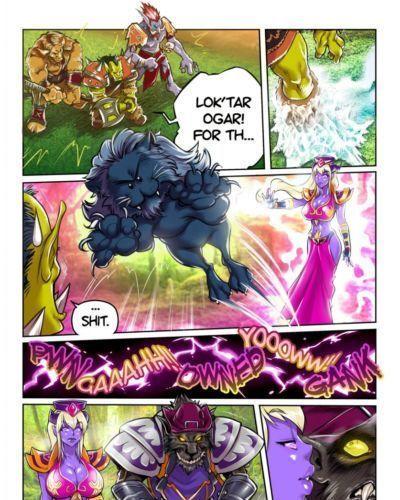 Melkor (Romulo Mancin) Make Love- Not Warcraft (World of Warcraft) WIP