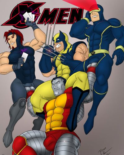 Iceman Blue X-Men
