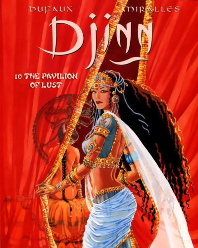 Ana Miralles Djinn - Volume #10: The Pavilion of Lust