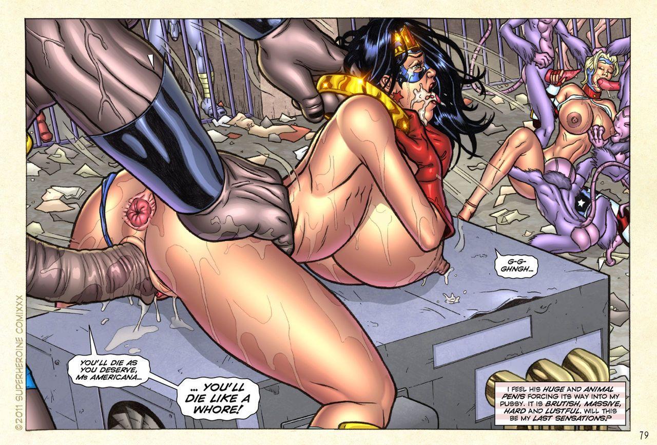 photo Superheroine comic book porn