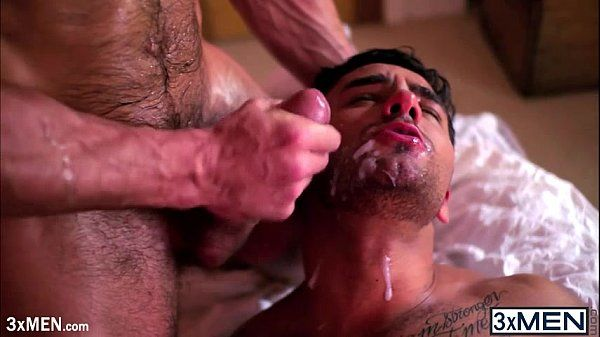 British dude Paddy O Brian rimmed Bruno Bernal tight hole by his rock