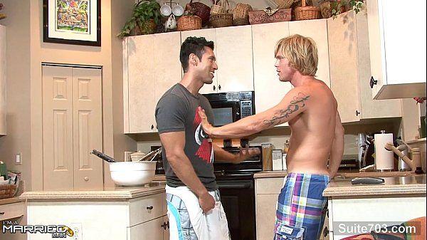 Brunette married guy take a gay\