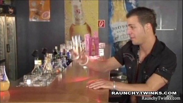 Horny Twink In Hot Steamy Sex At The Bar