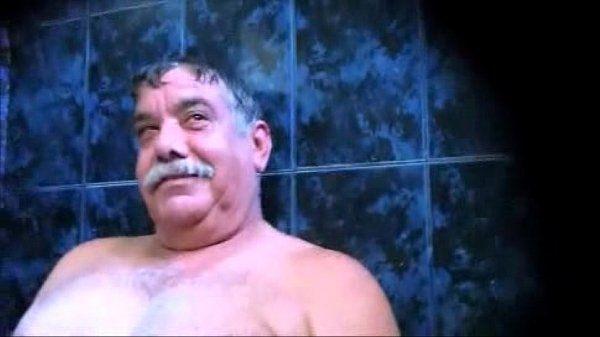 Big balls Sauna dad
