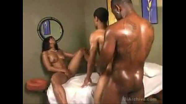 dick pussy dick threesome ebony
