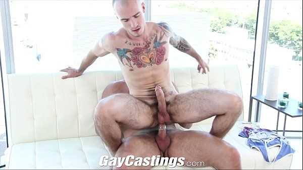 GayCastings Tatted muscle jock wants to break into pornHD