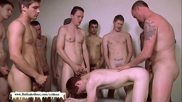Cute twink get his face covered with cumHD