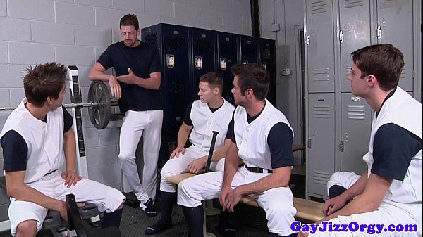 Athletic hunks jizzing on their coachHD